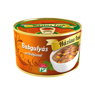 Bean goulash with pork 400g