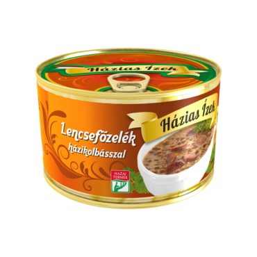 Dish of lentils with sausage 400g