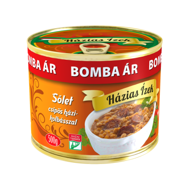 Solet /Dried beans with hot sausage 500g