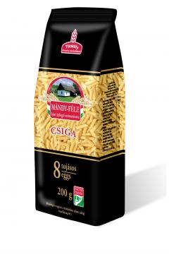 Small Rotini 8 egg pasta with milled spelt